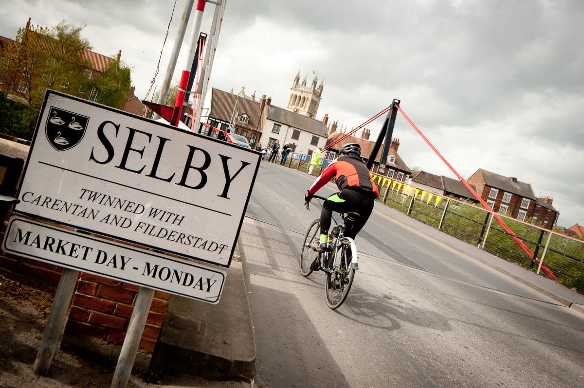 Tour de Yorkshire Selby Abbey Event Cover