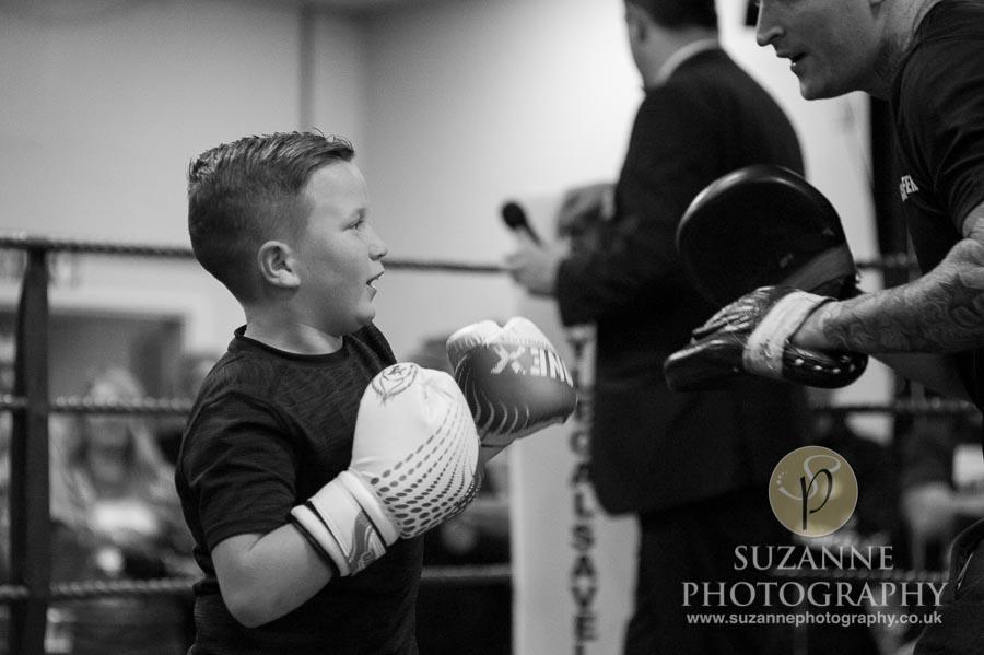 Klis Charity Fight Night Black and White 0157
