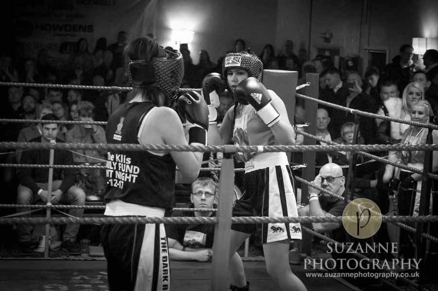 Klis Family Fund Charity Fight Night Black and White 0088