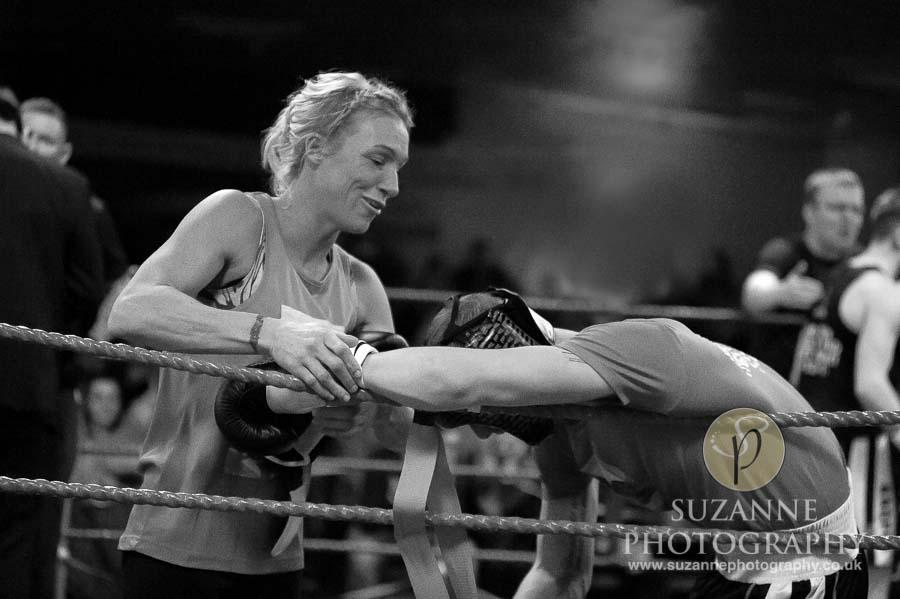 Klis Family Fund Charity Fight Night Black and White 0126
