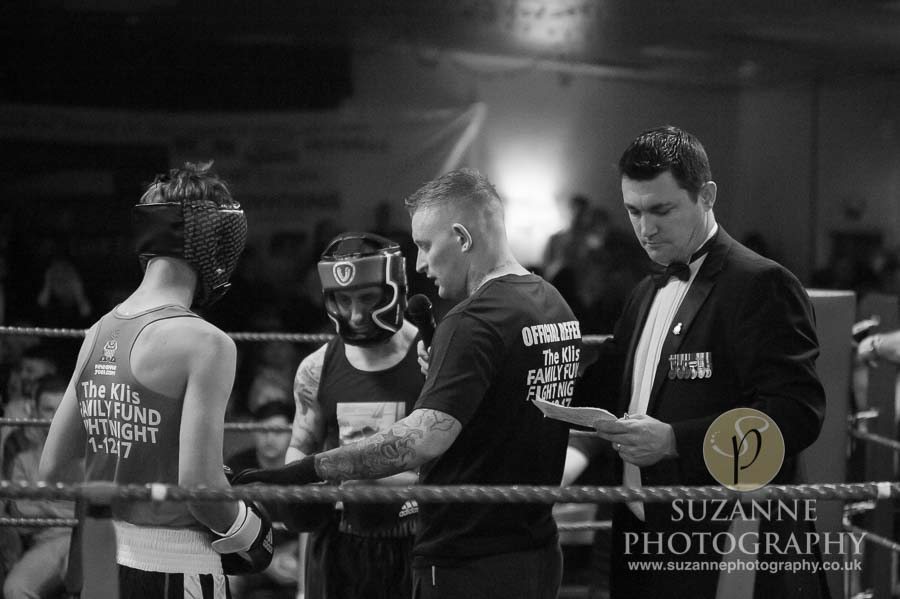 Klis Family Fund Charity Fight Night Black and White 0129