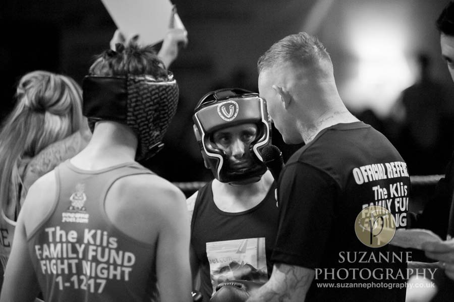 Klis Family Fund Charity Fight Night Black and White 0130