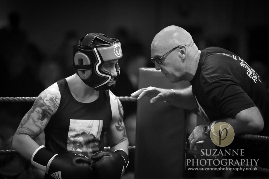 Klis Family Fund Charity Fight Night Black and White 0132