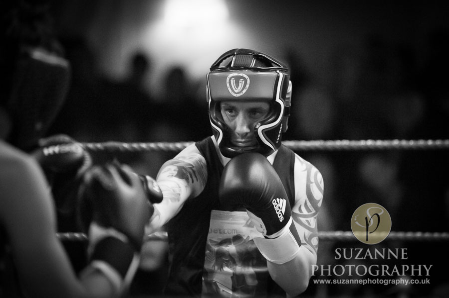 Klis Family Fund Charity Fight Night Black and White 0135