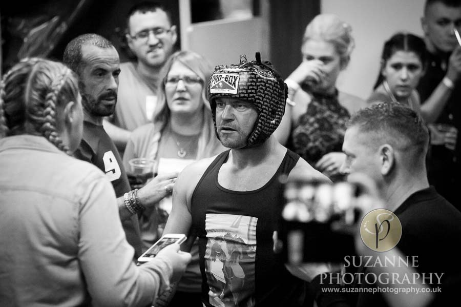 York Charity Fight Night Black and White 0248