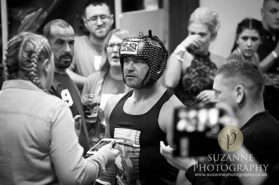 York Charity Fight Night Black and White 0249