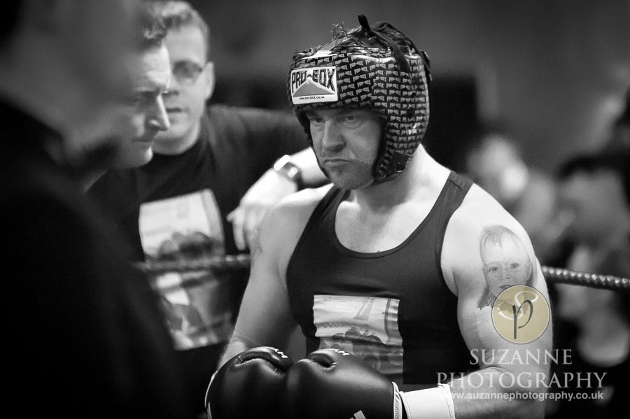York Charity Fight Night Black and White 0251