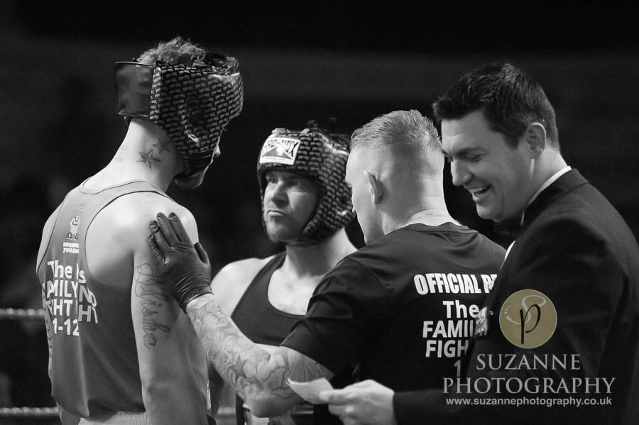 York Charity Fight Night Black and White 0260