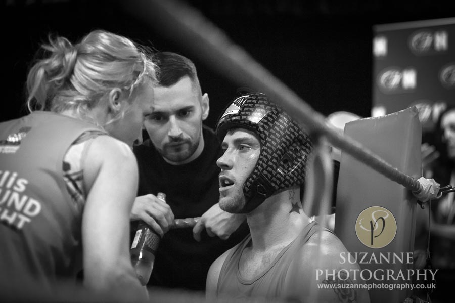 York Charity Fight Night Black and White 0274
