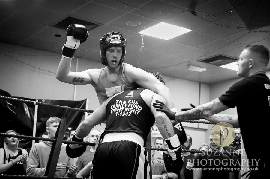 York Charity Fight Night Black and White 0284