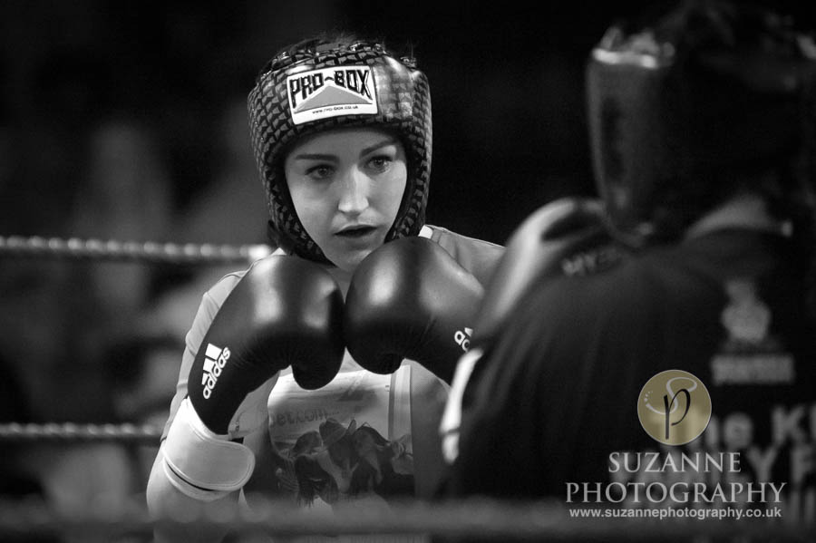 York Charity Fight Night Black and White 0292
