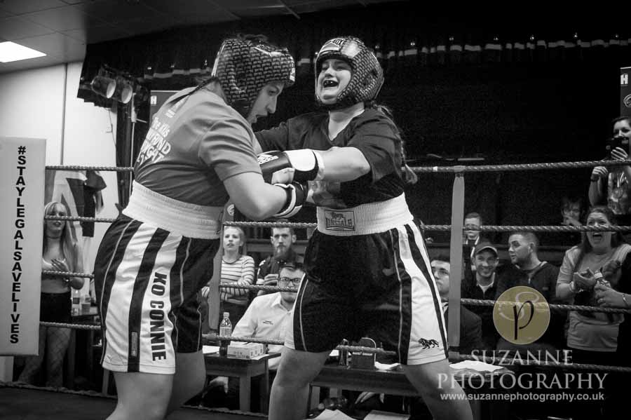 York Charity Fight Night Black and White 0306