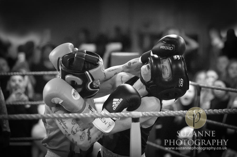 York Charity Fight Night Black and White 0324