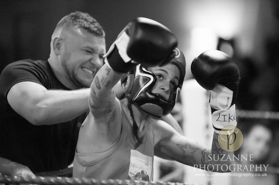 York Charity Fight Night Black and White 0325
