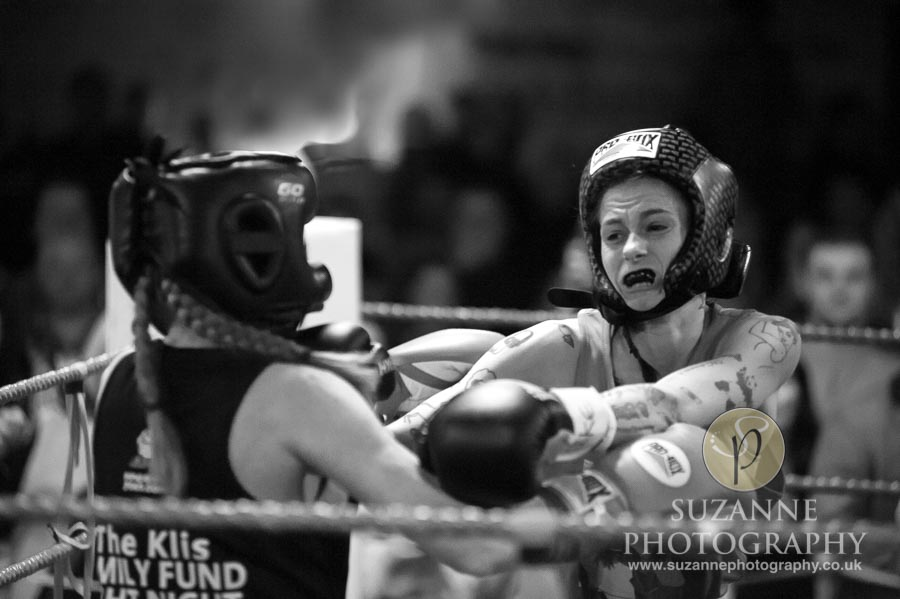 York Charity Fight Night Black and White 0333