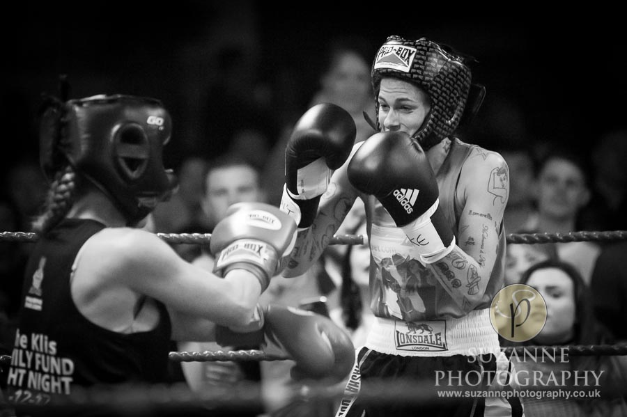 York Charity Fight Night Black and White 0335