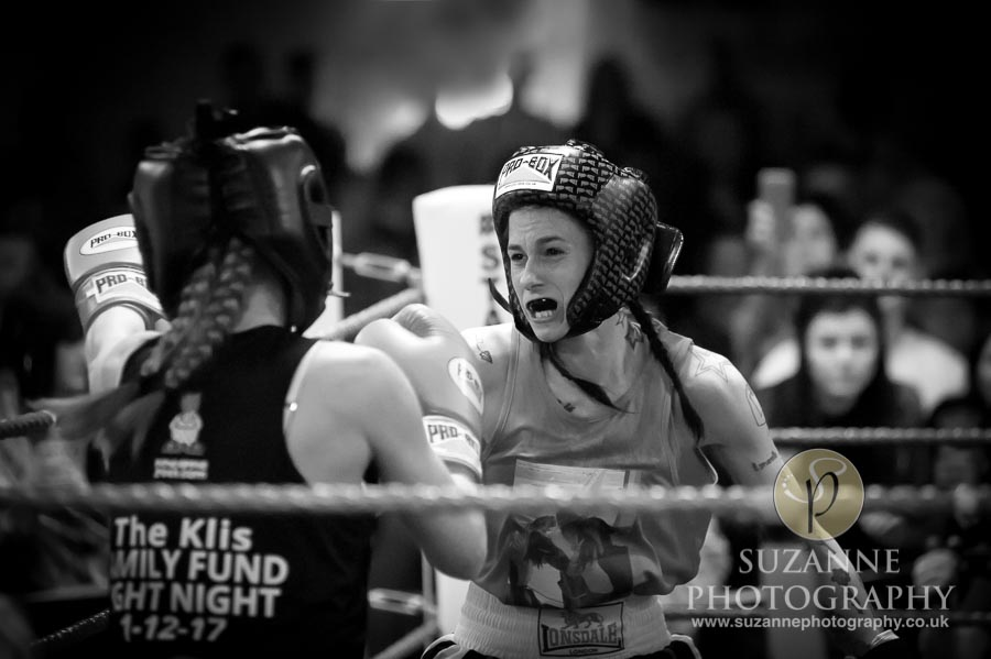 York Charity Fight Night Black and White 0341