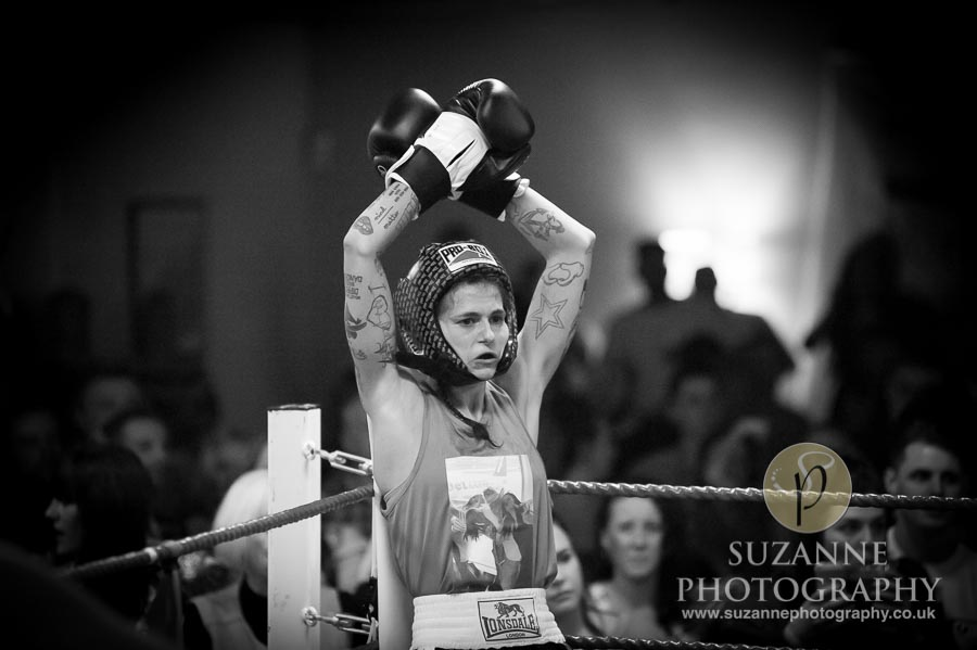 York Charity Fight Night Black and White 0343
