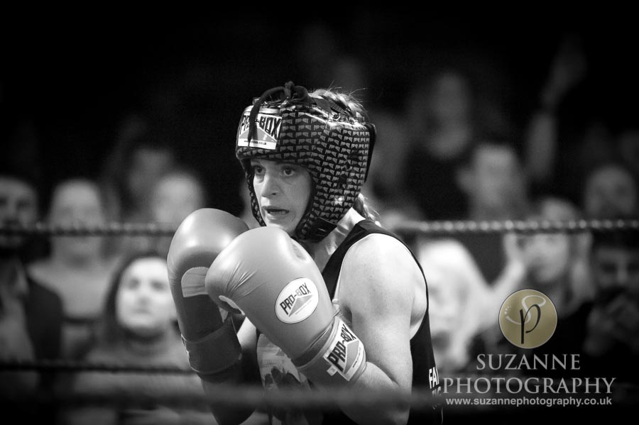 York Charity Fight Night Black and White 0347