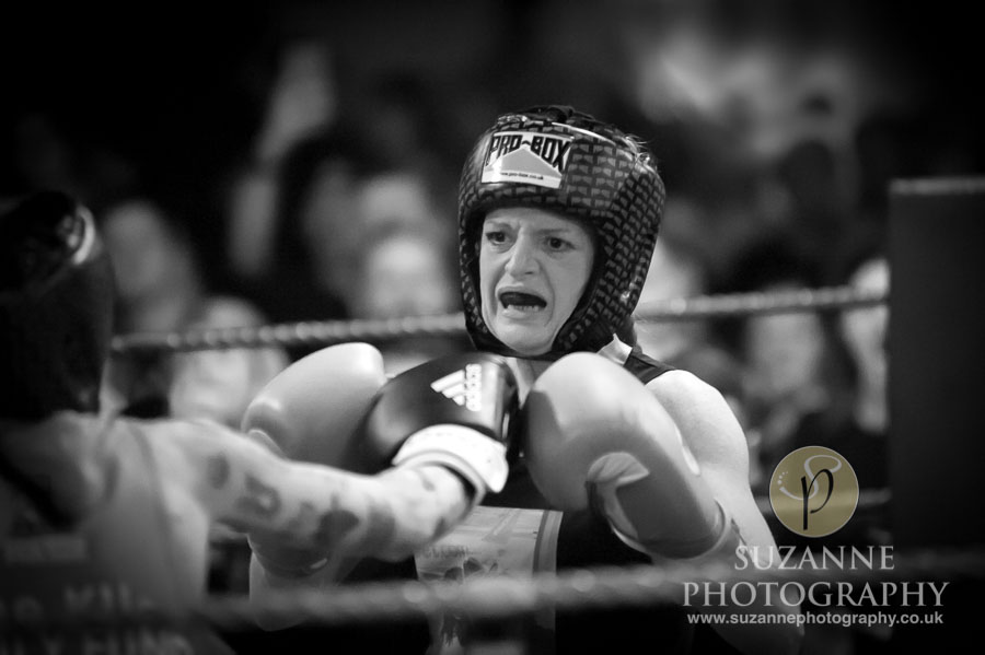 York Charity Fight Night Black and White 0352