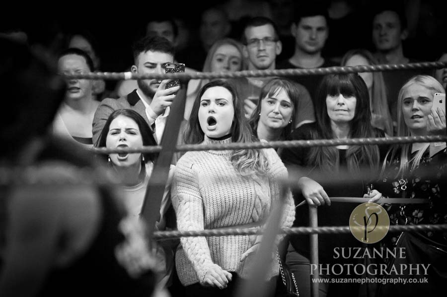York Charity Fight Night Black and White 0355