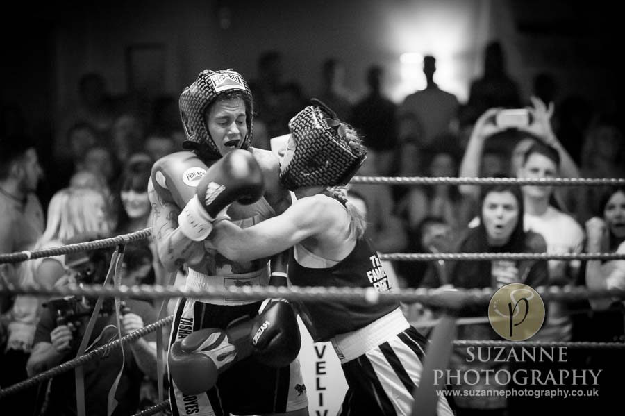 York Charity Fight Night Black and White 0357