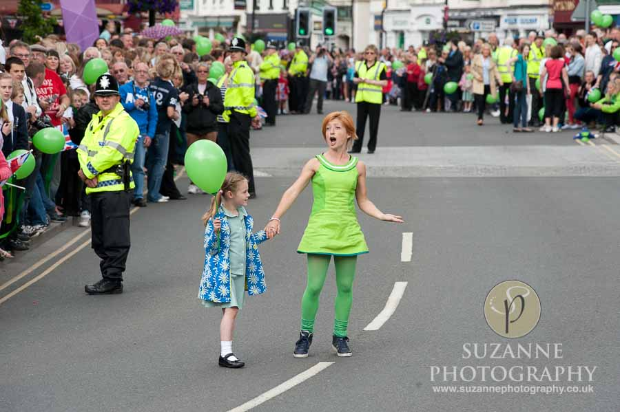 Olympic Torch in Selby North Yorkshire 134