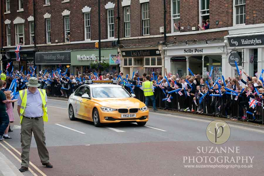 Olympic Torch in Selby North Yorkshire 140