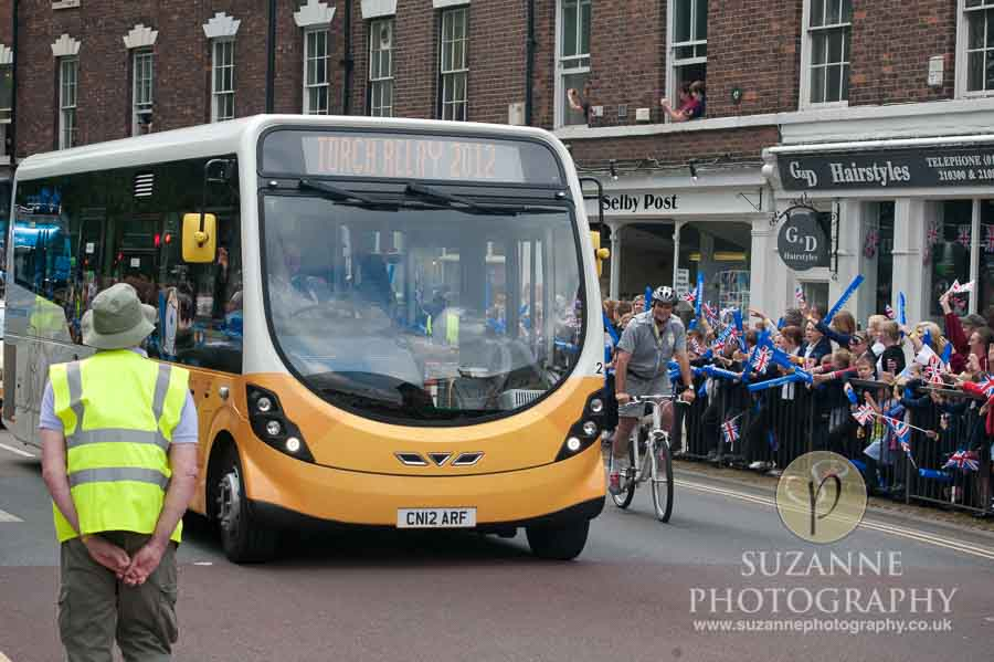 Olympic Torch in Selby North Yorkshire 142