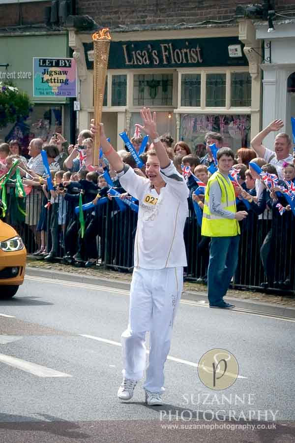 The Olympic Torch North Yorkshire 176