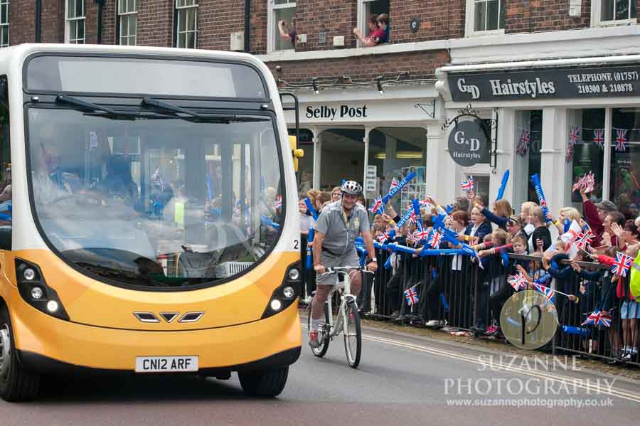 The Olympic Torch North Yorkshire 205