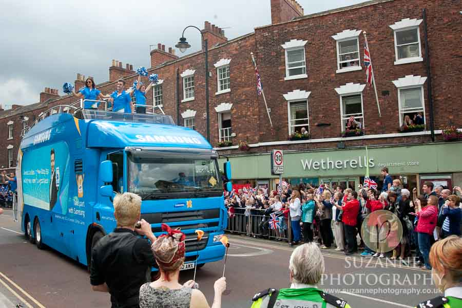 The Olympic Torch North Yorkshire 206