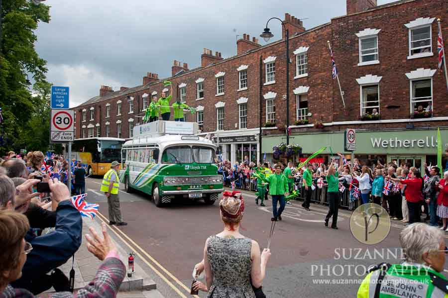 The Olympic Torch North Yorkshire 207