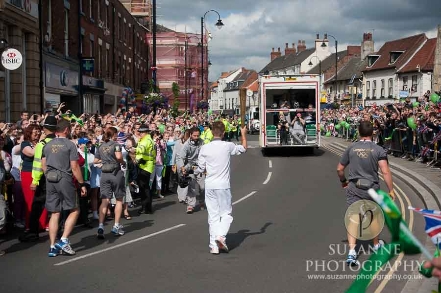 The Olympic Torch North Yorkshire 208