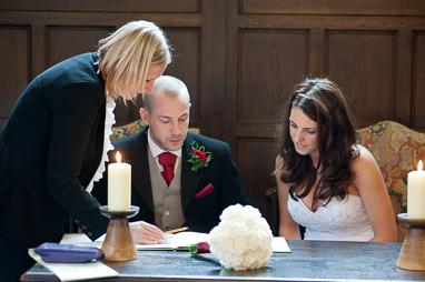 Civil Ceremony tripple Photo 2